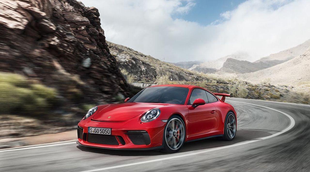 Genève 2017 : Porsche dévoile la nouvelle GT3