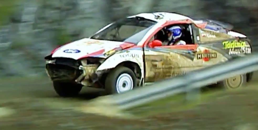 Colin McRae Crach race