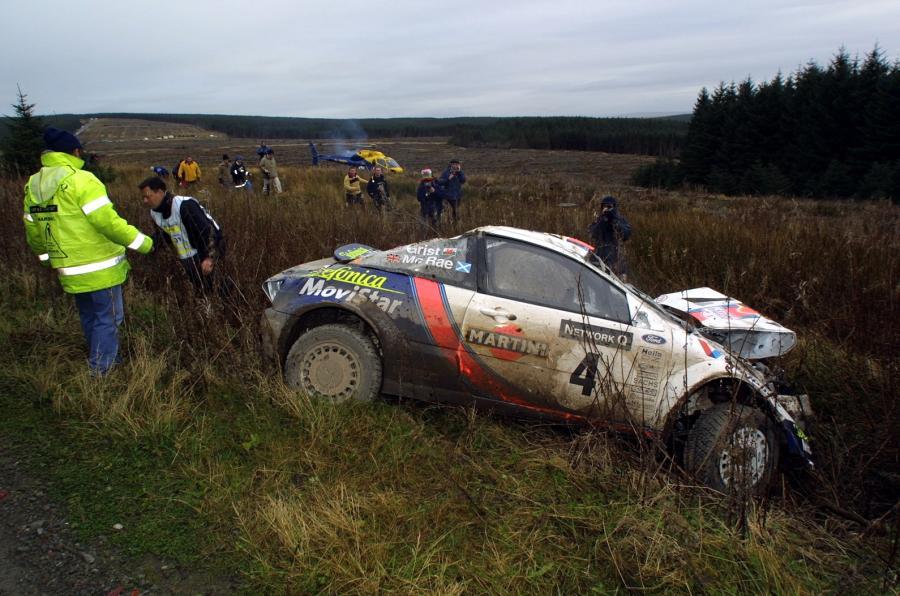 Colin McRae Crash RAC