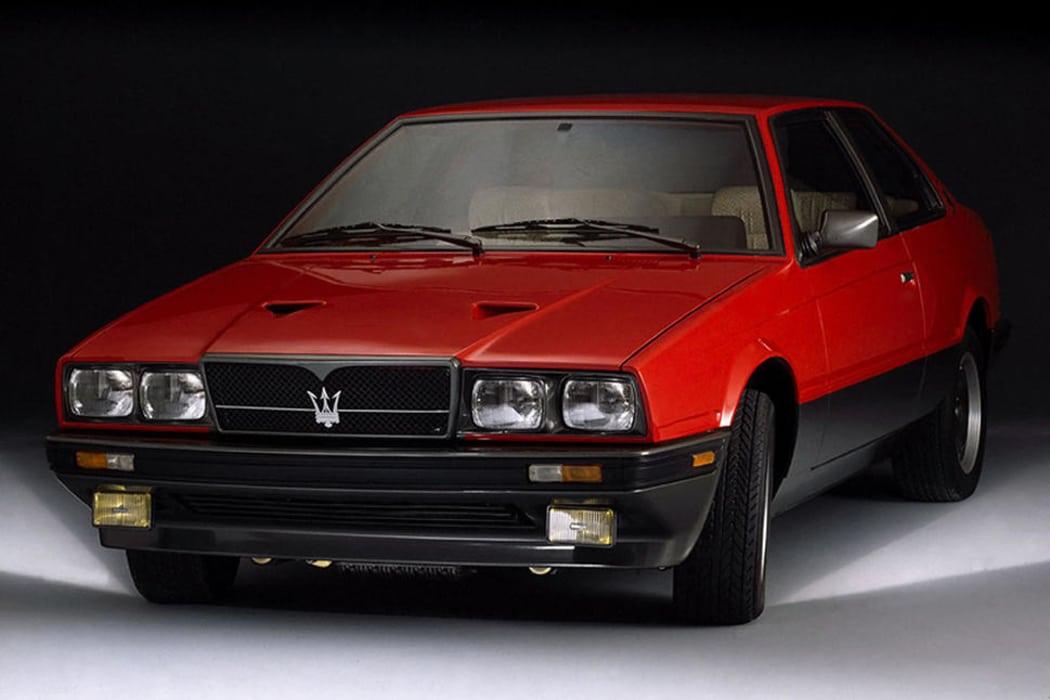 Dans le rétro de Jensen : la Maserati Biturbo