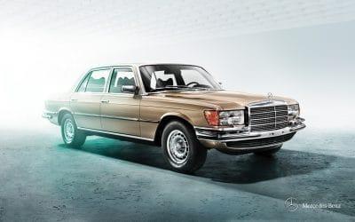 Dans le rétro de Jensen : La Mercedes 450SEL 6.9