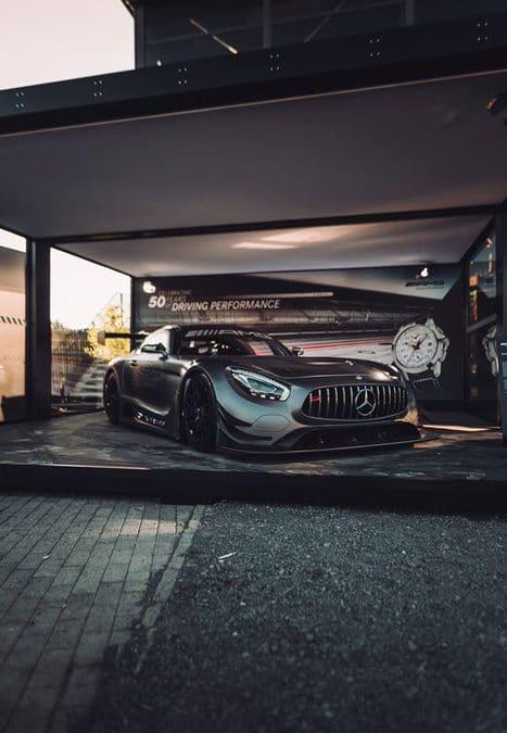 Mercedes-AMG GT3 Edition 50 : Joli cadeau d'anniversaire !