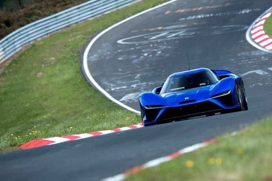 La supercar 100% électrique Nio EP9 devient l'auto la plus rapide sur le Nürburgring
