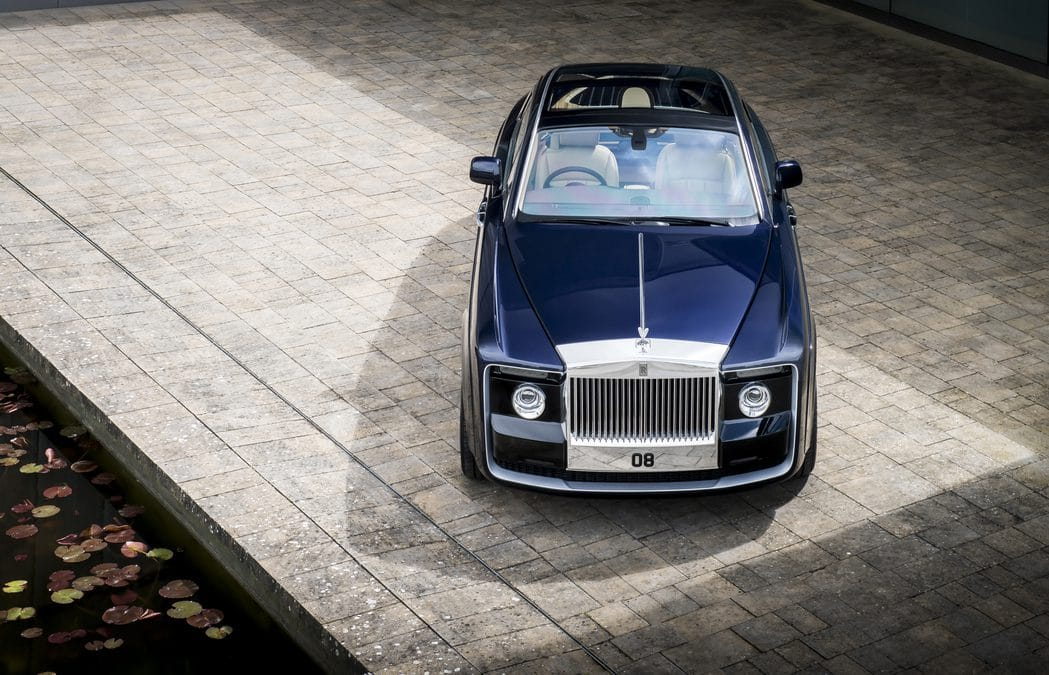 Rolls-Royce Sweptail : La Haute couture, version automobile