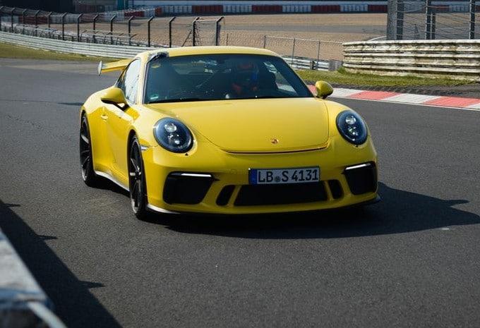 Porsche 911 GT3 : nouveau record au Nürburgring