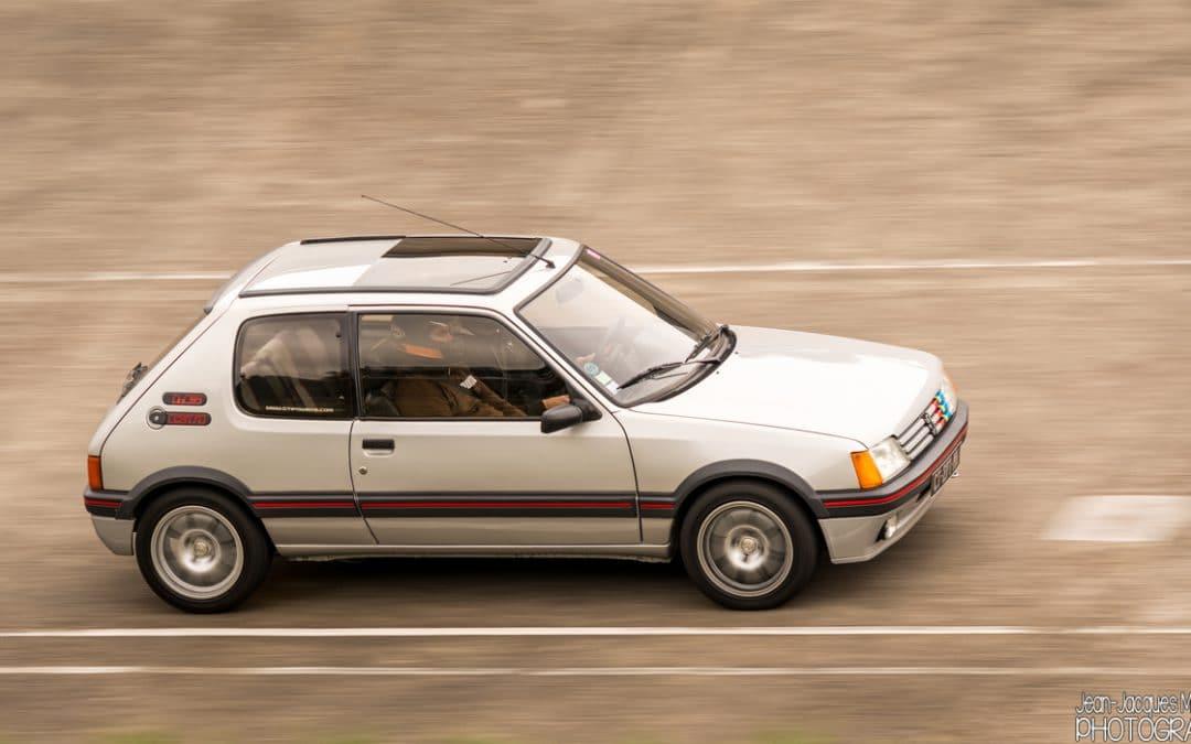 Dans le rétro de Jensen : la Peugeot 205 GTI