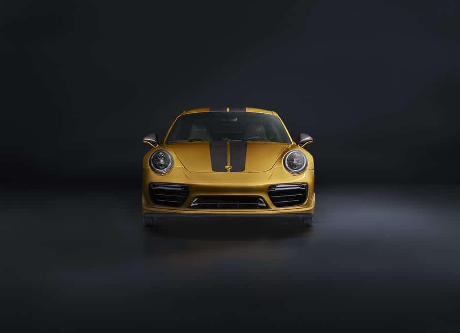 Porsche dévoile une édition limitée de sa 911 Turbo S : L'Exclusive Series