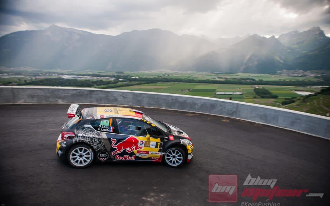 Sébastien Loeb sur un rallye Suisse, c'est de la dynamite