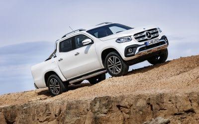 Mercedes lève le voile sur son Pick-Up : le Classe X