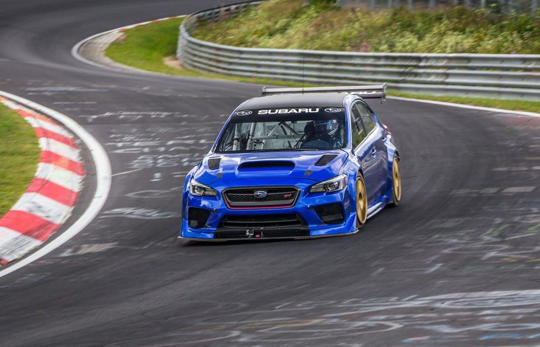 Une Subaru WRX STI préparée devient la berline la plus rapide du Nürbrugring !