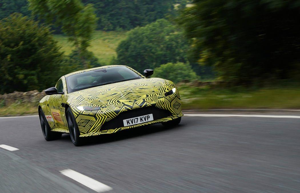 Aston Martin : La nouvelle Vantage commence à se dévoiler
