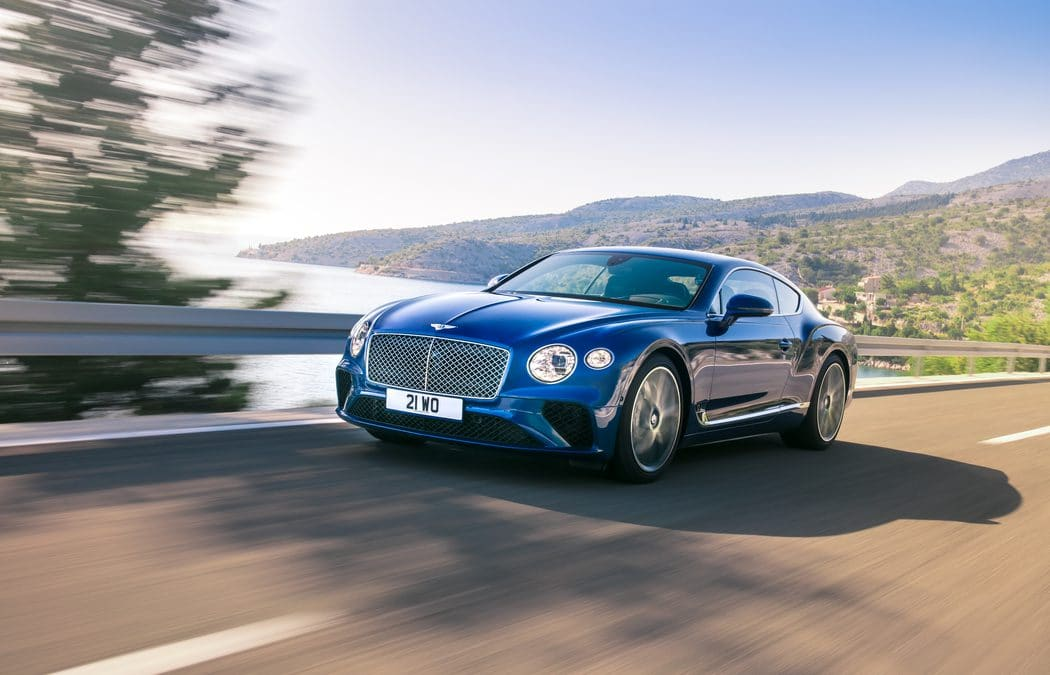 Bentley Continental GT : La 3ème génération dévoilée
