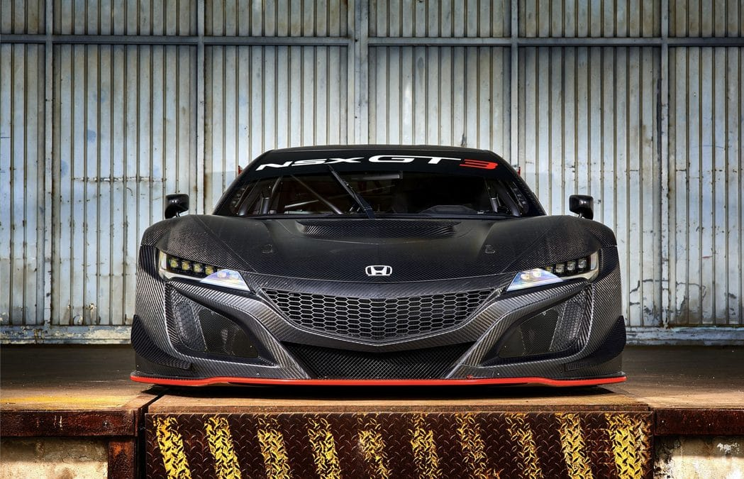 Honda lance la NSX GT3 : Arme de destruction massive !