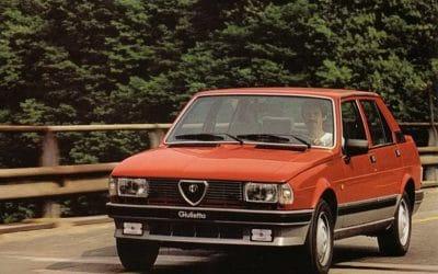 Dans le rétro de Jensen : L'Alfa Roméo Giulietta