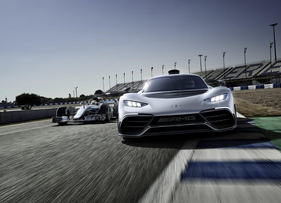 Francfort 2017 : Mercedes-AMG Project ONE : Machine à rêve(s)