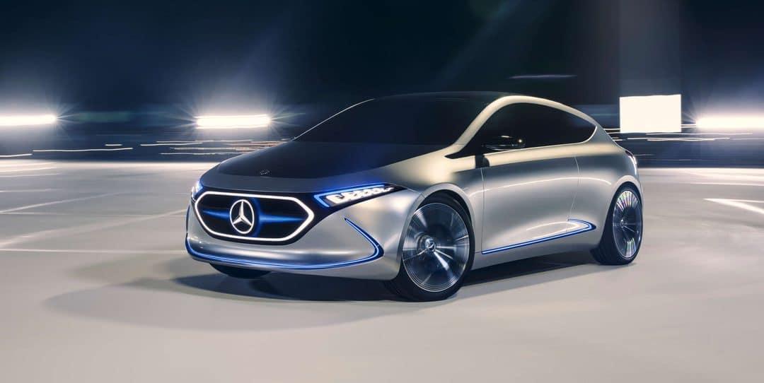 Francfort 2017 : Mercedes EQA Concept : L'étoile survoltée