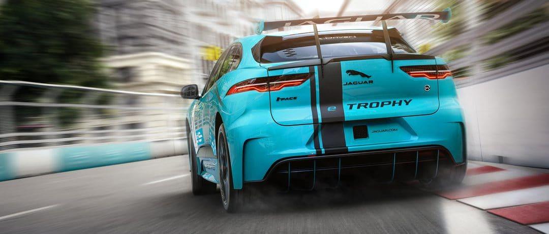 Francfort 2017 : La Jaguar I-Pace eTrophy entre en piste