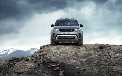 Francfort 2017 : Land Rover Discovery SVX : Belle surprise