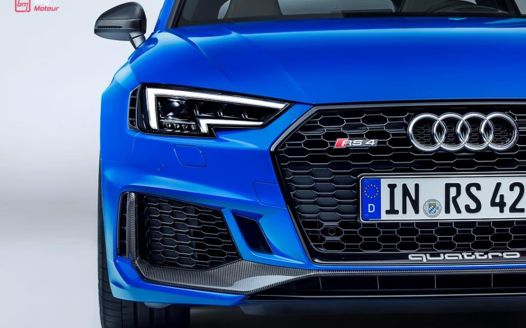 Francfort 2017 : Audi RS4, le break sport par excellence !