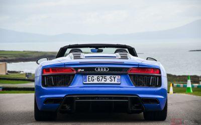 Essai Audi R8 spyder : Road Trip au pays de Galles
