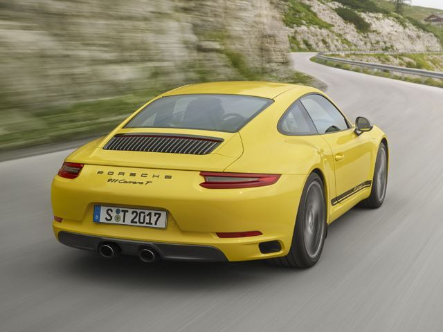 Porsche 911 Carrera T : plus de fun pour la Carrera