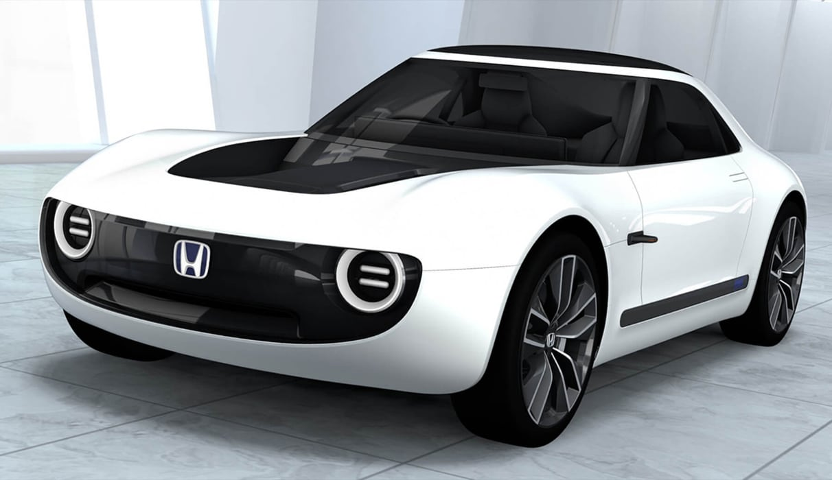 honda sport ev concept une vision all chante de la sportive lectrique. Black Bedroom Furniture Sets. Home Design Ideas