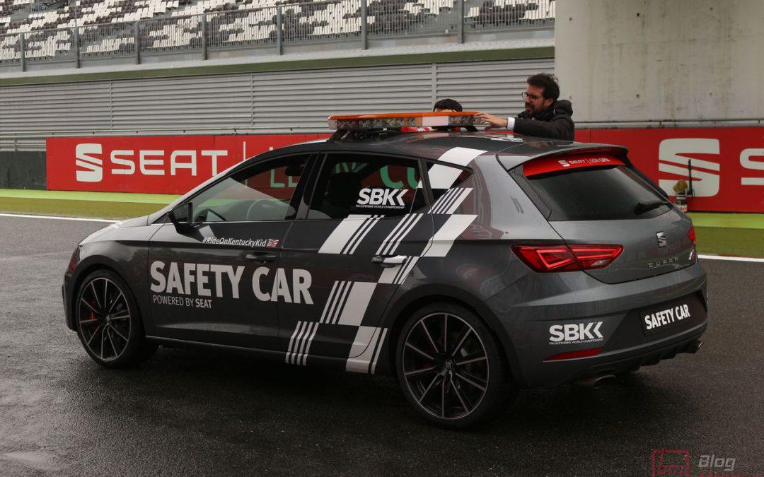 SuperBike x Seat Leon Cupra : Recette Safety Car pour la Leon Cupra !