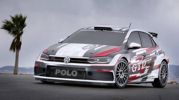 VW Motorsport présente sa Polo GTI R5