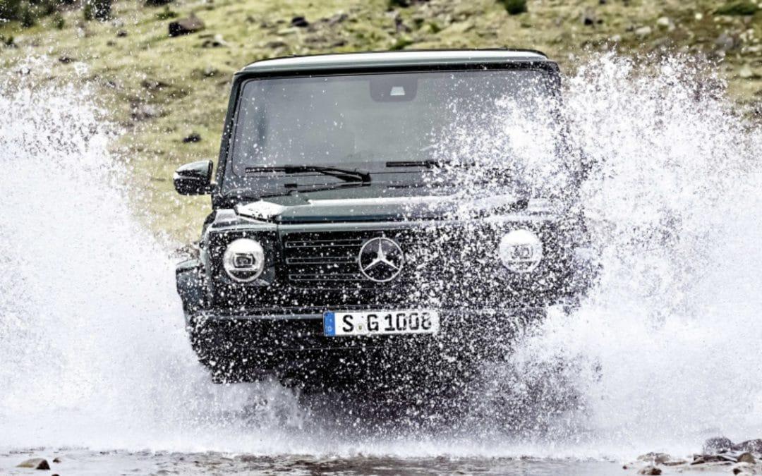 Salon de Détroit 2018 : Nouveau Mercedes Classe G, le mythe réinventé