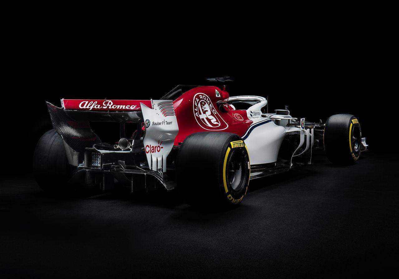 F1 : Alfa Romeo-Sauber dévoile sa monoplace 2018