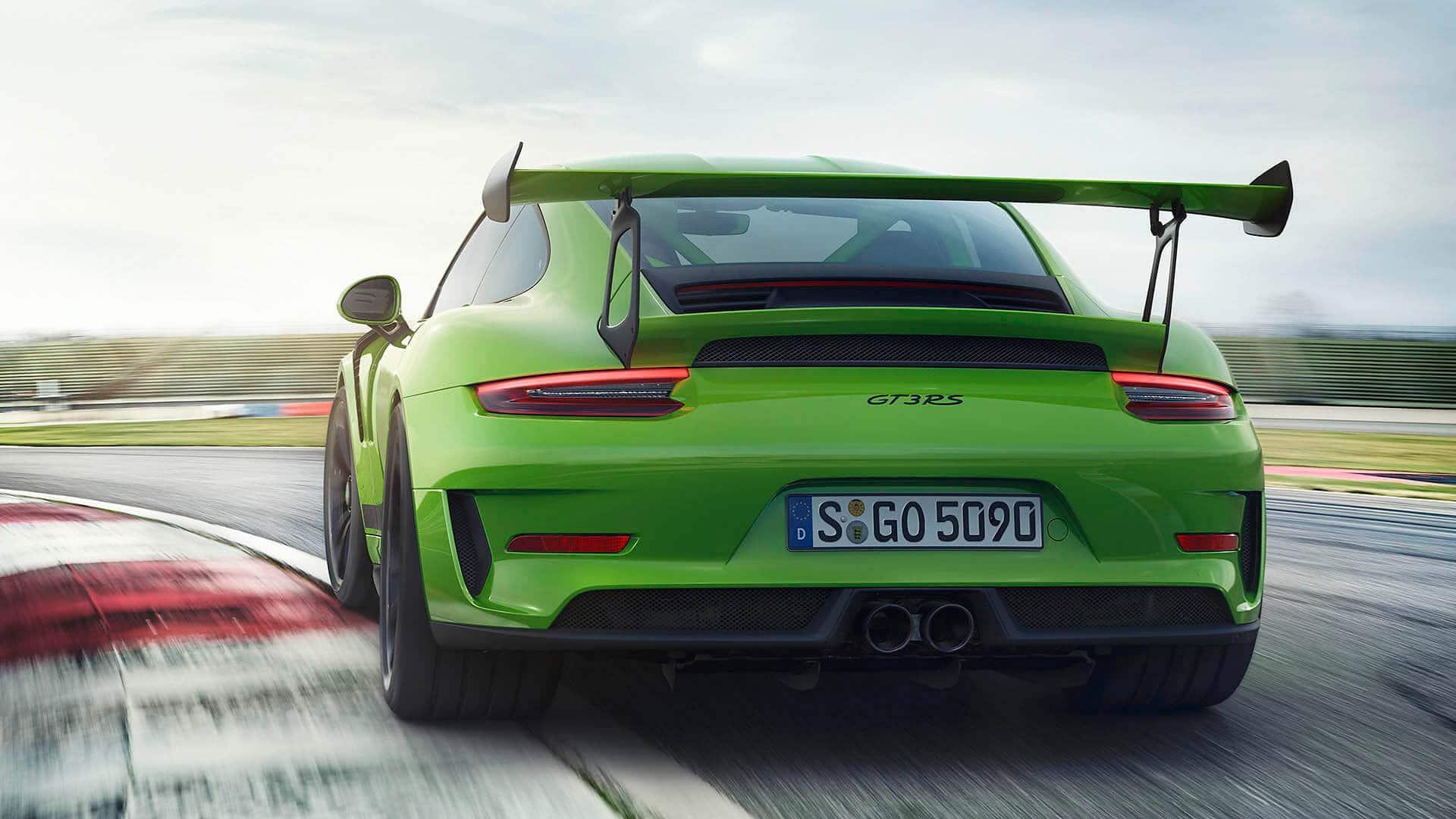 Au plus près de la course : la nouvelle Porsche 911 GT3 RS