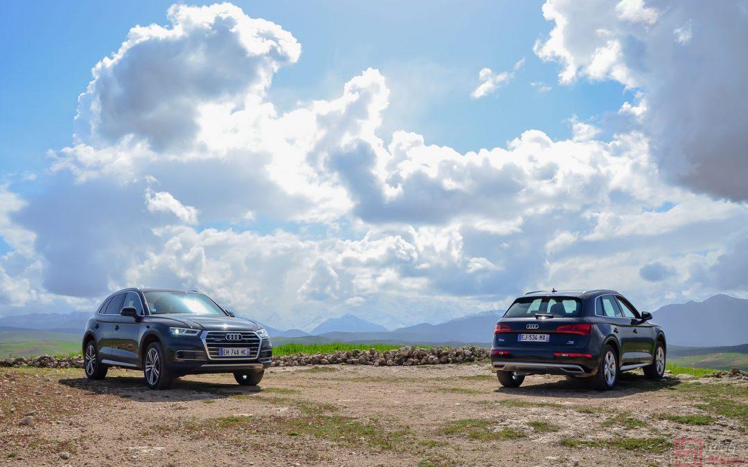 Road Trip au Maroc à bord du tout nouvel Audi Q5