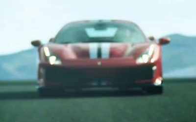Une video teasing pour la prochaine Ferrari 488 Pista !