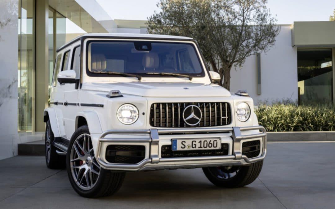 Le nouveau Mercedes Classe G s'offre déjà une surpuissante version G63 AMG de 585 ch !