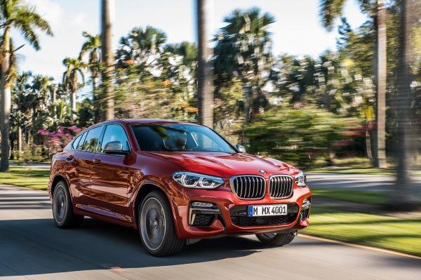 Voici la nouvelle BMW X4, cadeau de Saint Valentin ?