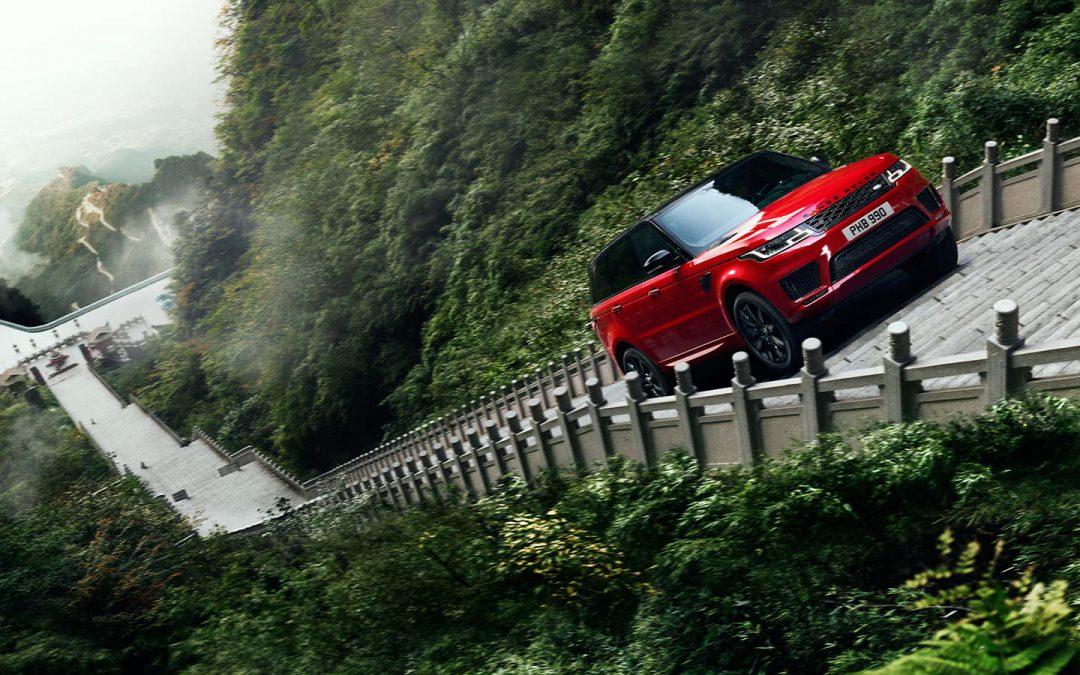 Le Range Rover Sport remporte le Dragon Challenge !