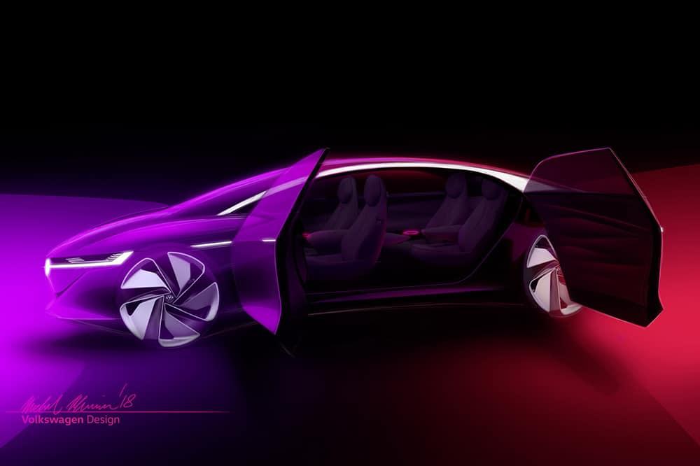 Salon de Genève 2018 : Volkswagen dévoile son I.D Vizzion
