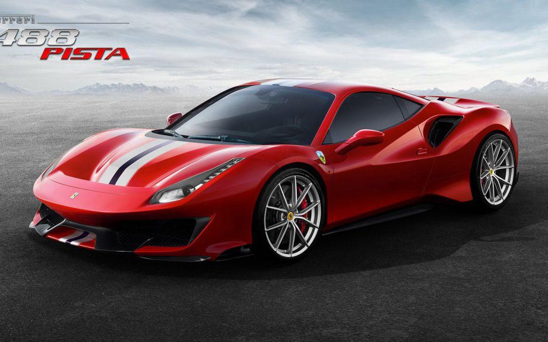 La Ferrari 488 Pista enfin les photos officielles dévoilées !