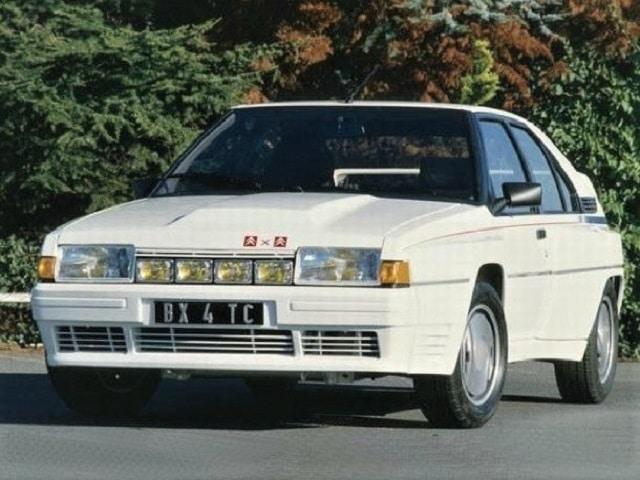 Dans le rétro de Jensen : La Citroën BX 4TC : Une série Z pour le Groupe B