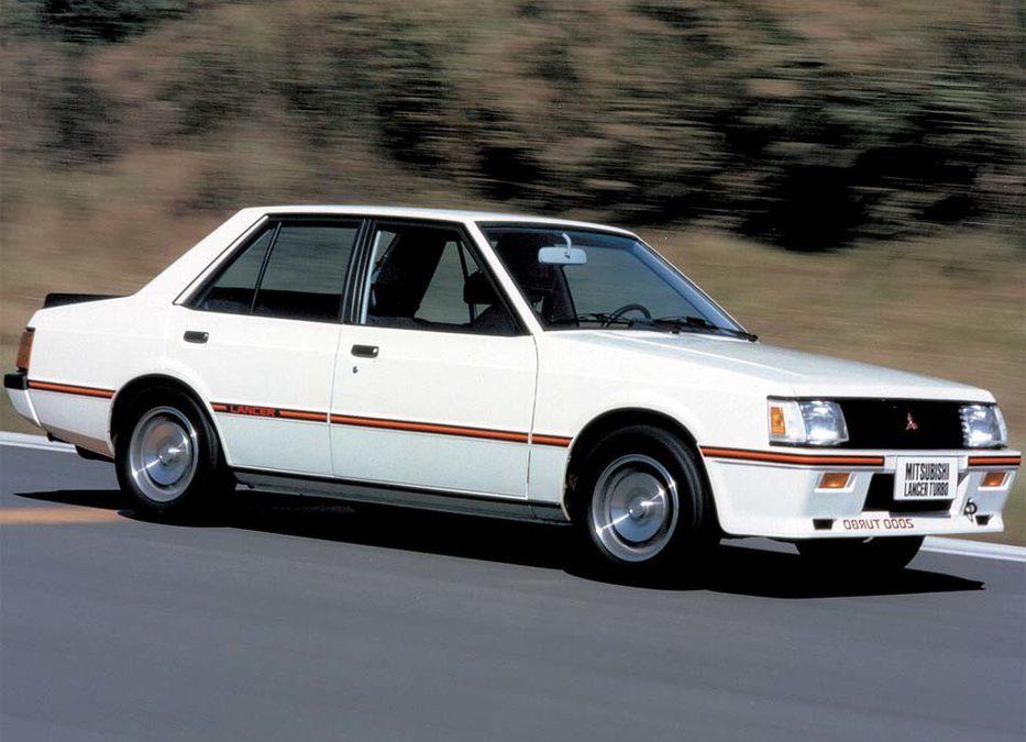 Dans le rétro de Jensen : la Mitsubishi Lancer 2000 EX Turbo