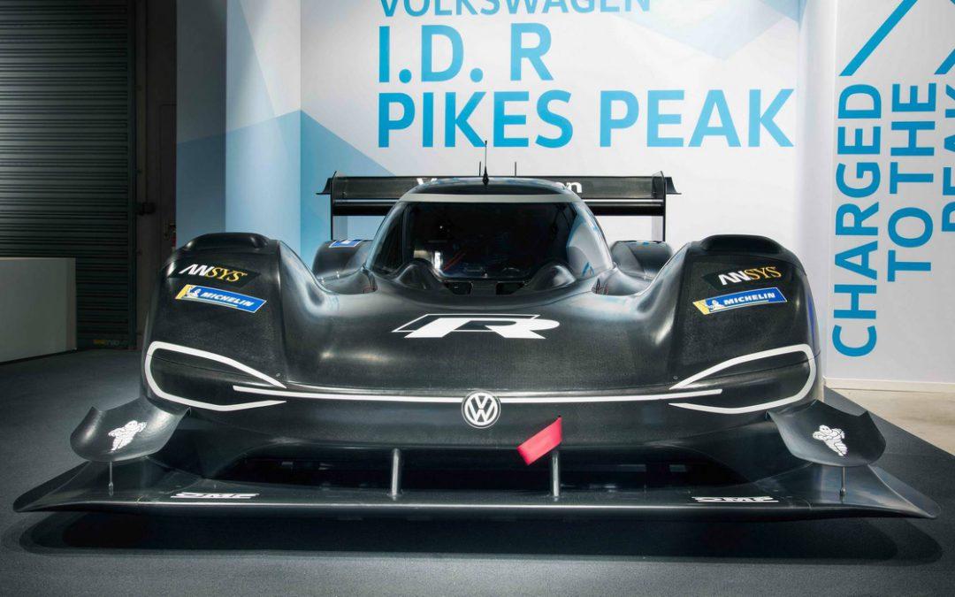 Volkswagen I.D. R : Une bête de course électrique à l'assaut du Pikes Peak !