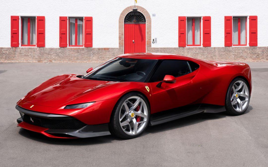 Ferrari SP38 : Un exemplaire unique présenté à la Villa d'Este