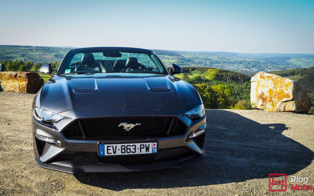Essai/Roadtrip : Paris-Spa au volant d'une Ford Mustang GT Convertible V8 5.0 2018