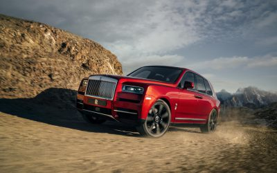 Rolls-Royce lance son premier SUV : le Cullinan