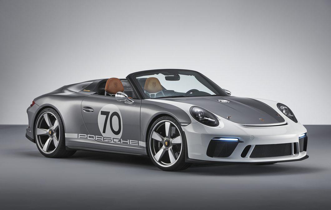 Porsche dévoile sa 911 Speedster Concept : Jolie bougie d'anniversaire