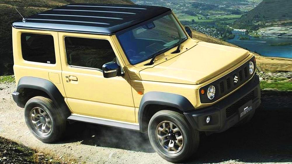 suzuki jimny edition 2018 another brique in the wall. Black Bedroom Furniture Sets. Home Design Ideas