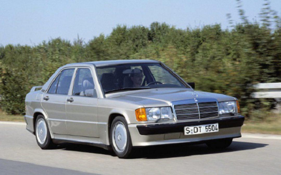 Dans le rétro de Jensen : La Mercedes 190