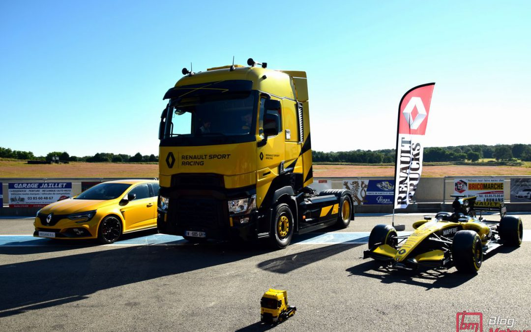 Essai : Au volant du Renault Trucks T High Renault Sport Racing Limited Edition de 520 ch !