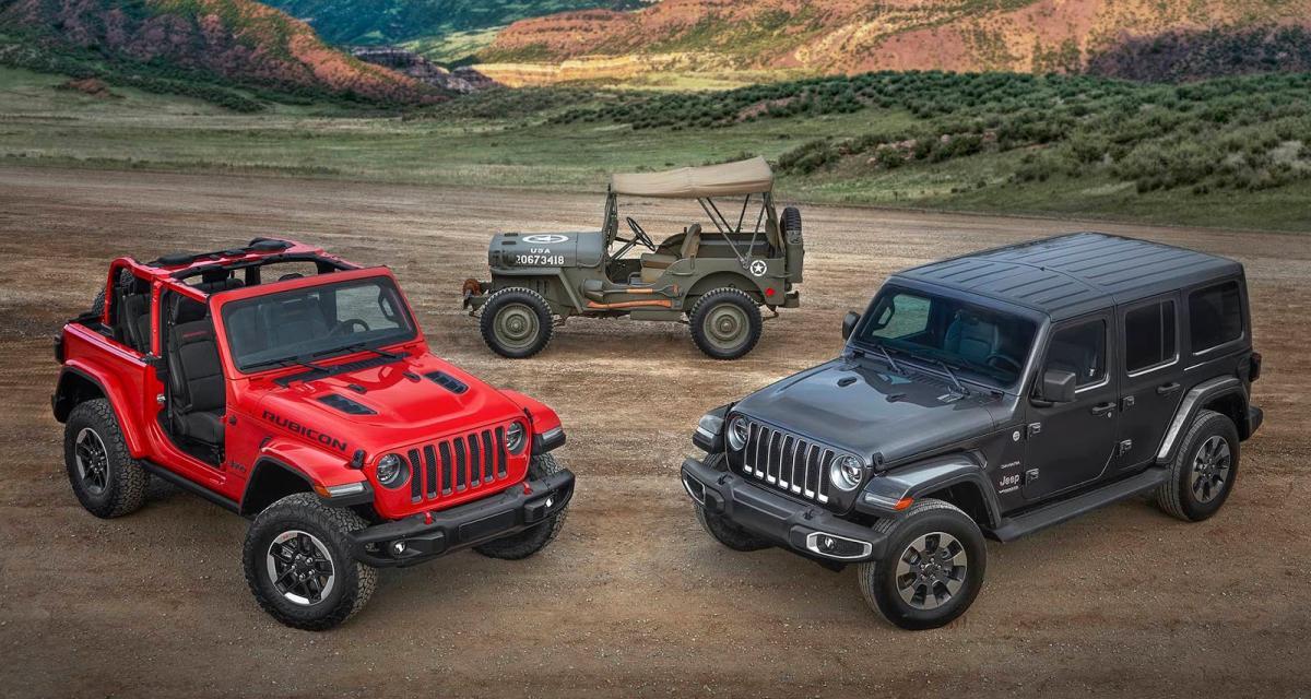 le jeep wrangler passe l 39 hybride rechargeable. Black Bedroom Furniture Sets. Home Design Ideas