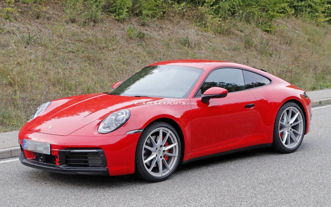 La présentation de la nouvelle Porsche 911 se rapproche